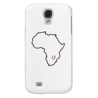 Zambia Heart Samsung Galaxy S4 Cases