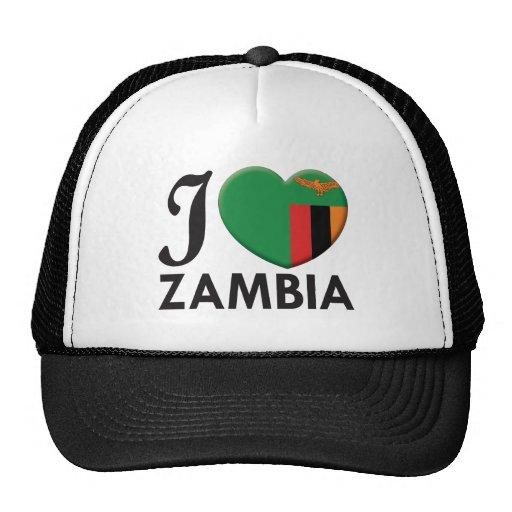 Zambia Love Mesh Hats