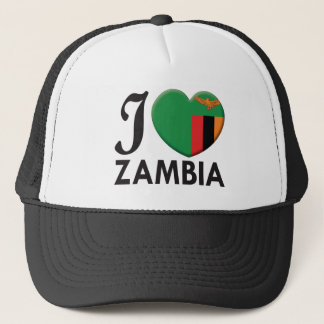 Zambia Love Trucker Hat