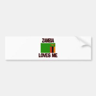Zambia Loves Me Bumper Sticker
