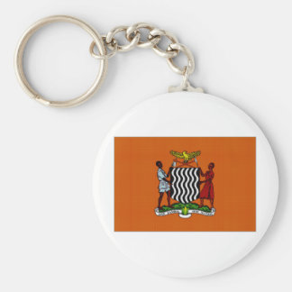 Zambia President Flag Keychains