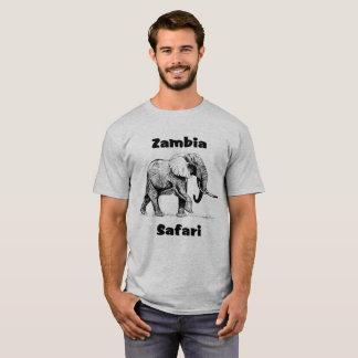 Zambia Safari Elephant Tshirt