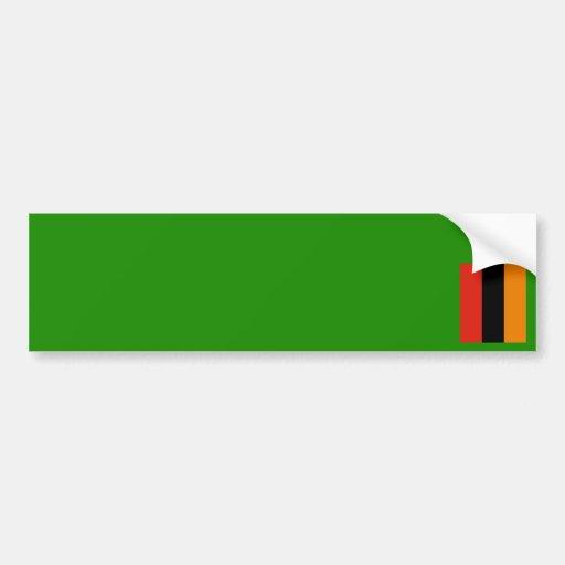 Zambia – Zambian Flag Bumper Stickers