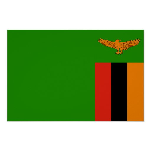 Zambia – Zambian Flag | Zazzle