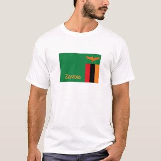 Zambia zambian flag souvenir t-shirt