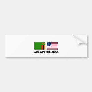 Zambian American Bumper Stickers