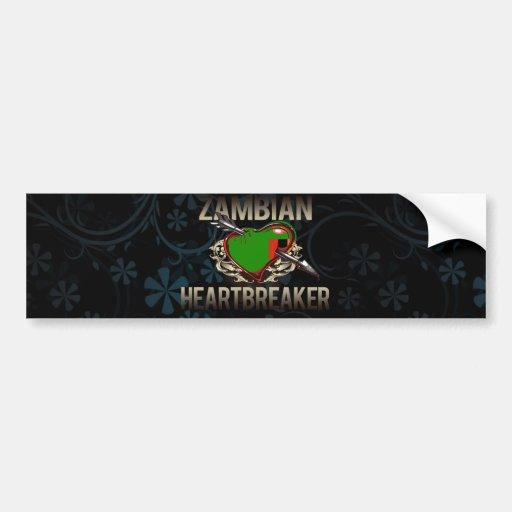 Zambian Heartbreaker Bumper Stickers