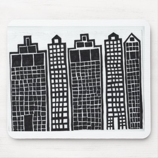 Zan In The City Mousepad