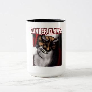Zander Claws - the evil Santa Two-Tone Mug