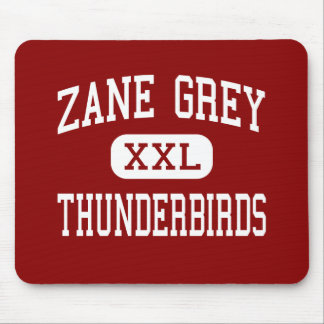 Zane Grey - Thunderbirds - High - Reseda Mouse Pads