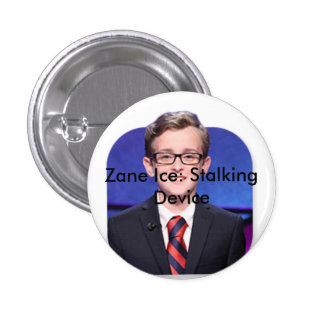 zane ice 5 ever 3 cm round badge