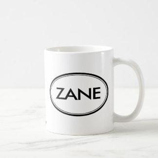 Zane Classic White Coffee Mug