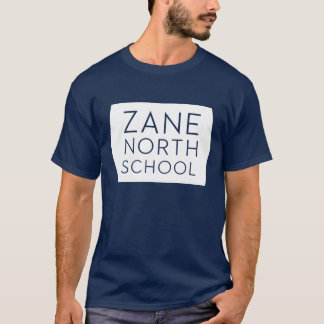 Zane North Hexagon Mens Navy Tee