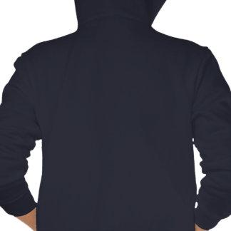 Zane North Kids' Navy Fleece Zip Hoodie