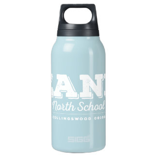 Zane North School Aluminum 10 Oz Insulated SIGG Thermos Water Bottle