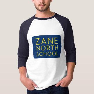 Zane North School Men's Baseball 3/4 Sleeve Tee