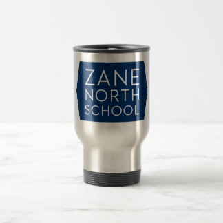 Zane North Silver Travel Mug