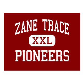Zane Trace - Pioneers - Middle - Kingston Ohio Postcard