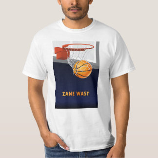 Zane Wast Basketball T-Shirt