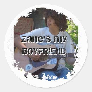 Zane's my Boyfriend Sticker
