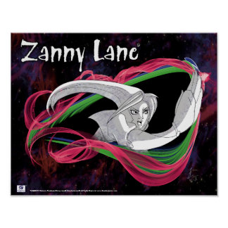 Zanny Lane in Action Poster