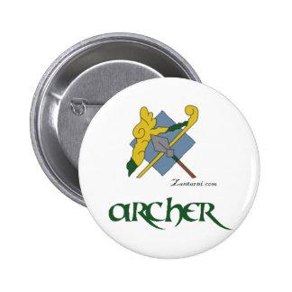 Zantarni Iconic Archer 6 Cm Round Badge