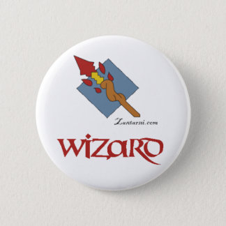 Zantarni Iconic Wizard 6 Cm Round Badge
