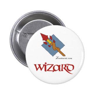 Zantarni Iconic Wizard 6 Cm Round Badge
