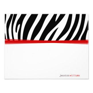Zany Zebra Invites