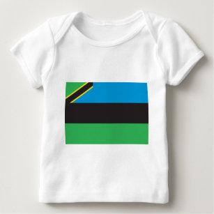 Zanzibar Flag Baby T-Shirt