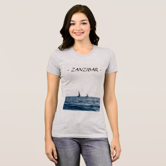 ZANZIBAR sailboats T Shirt (Women's)