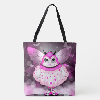 ZAP ALIEN  All-Over-Print Tote Bag LARGE