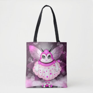 ZAP ALIEN  All-Over-Print Tote Bag MEDIUM
