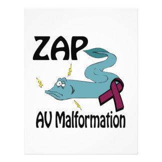 ZAP AV Malformation 21.5 Cm X 28 Cm Flyer