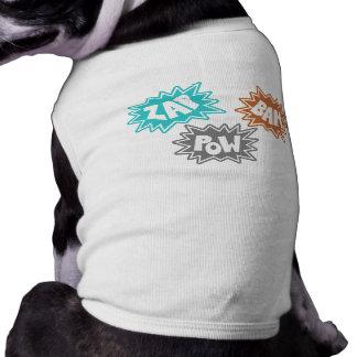 ZAP BAM POW Comic Sound FX - Orange Dog Clothes
