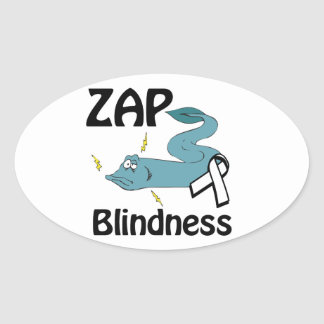 ZAP Blindness Stickers