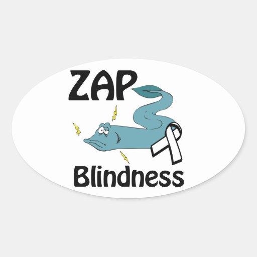 ZAP Blindness Stickers
