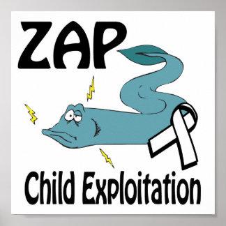 ZAP Child Exploitation Posters