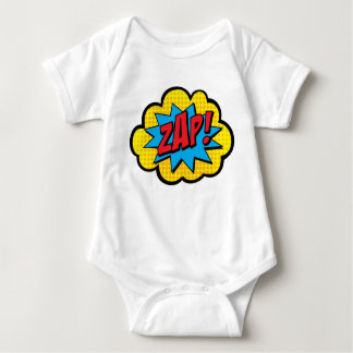 Zap! Comic Book Baby Bodysuit