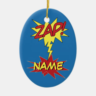 ZAP! custom ornamenr Christmas Ornament