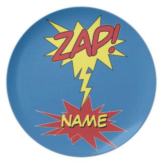 ZAP! custom plate