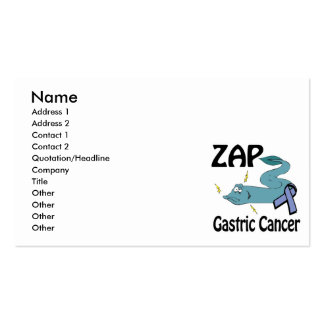 ZAP Gastric Cancer Pack Of Standard Business Cards