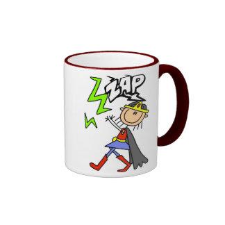 ZAP Girl Hero Coffee Mugs