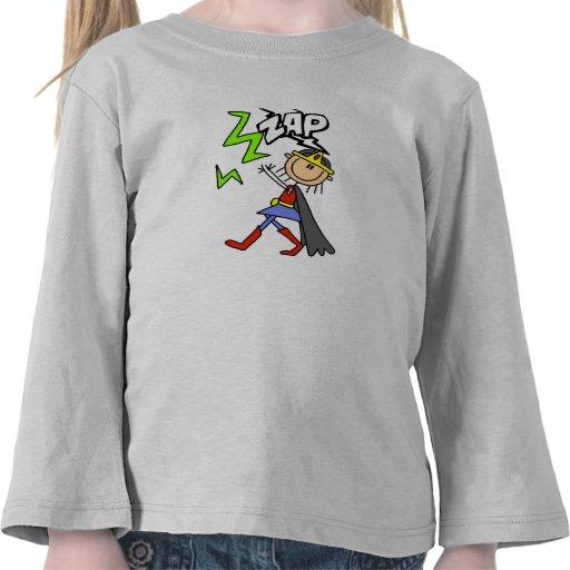ZAP Girl Hero Tee Shirts