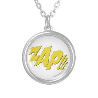 ZAP!!! SILVER PLATED NECKLACE