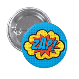 ZAP! Superhero Pin PC