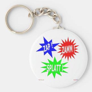 Zap Zamm Splatt Keychain