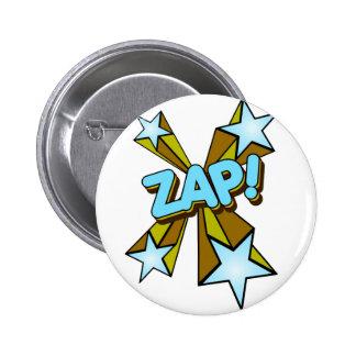 Zap, Zing, Pow! 6 Cm Round Badge