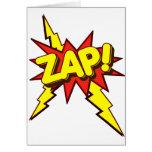 Zap, Zing, Pow! Greeting Card