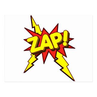 Zap, Zing, Pow! Post Card